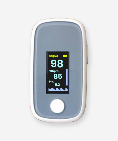 Digital Fingertip Oximeter Blood Oxygen Monitor