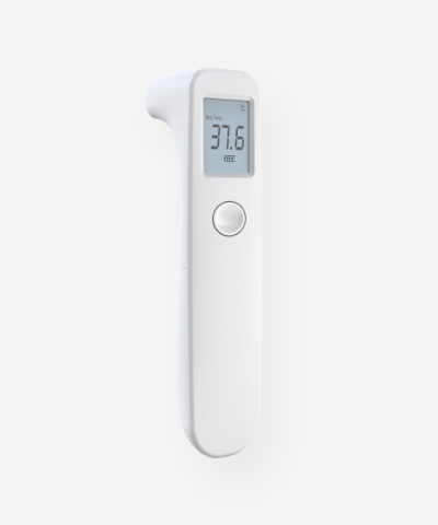 Non-Contact Digital Infrared Forehead Thermometer – Model LX-201 – FDA Registered